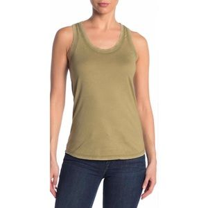 AG Adriano Goldschmied Cambria Fitted Tank Top